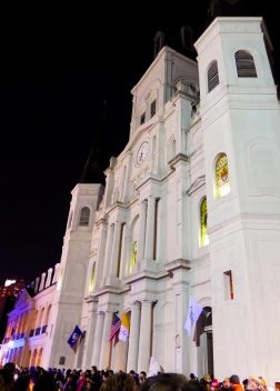 01 twelfth night 2018 jackson square new orleans st. louis cathedral