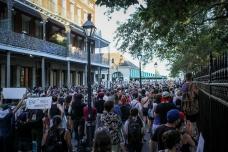 10 new orleans workers group BLM rally friday jackson square