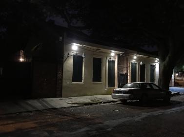 14 saint philip street at night new orleans