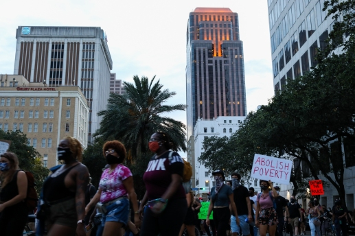 18 black lives matter march new orleans CBD