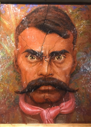 18 mexico city palacio nacional emiliano zapata portrait