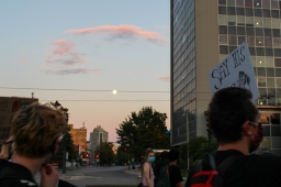 19 new orleans workers group BLM march thursday moon over march