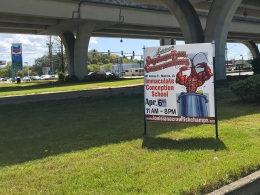 24 louisiana crawfish boil championships sign gretna new orleans
