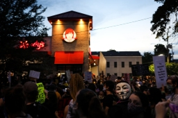 25 black lives matter march new orleans guy fawkes wendys