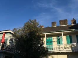 27 french quarter festive balcony detail new orleans
