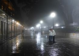 27 krewe du vieux 2018 new orleans jackson square fog
