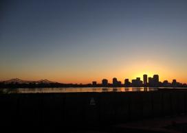 29 new orleans skyline sunset