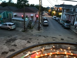 35 view up royal from mimi's in the marigny new orleans