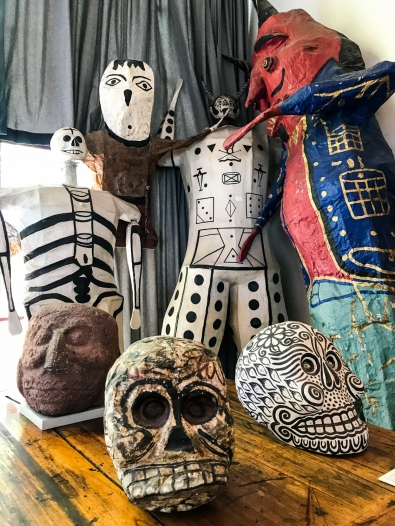44 mexico city rivera house sculptures