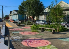 44 roses on pavement saint bernard ave 7th ward new orleans