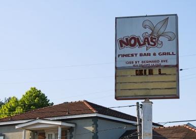 45 nola's finest bar & grill saint bernard ave 7th ward new orleans