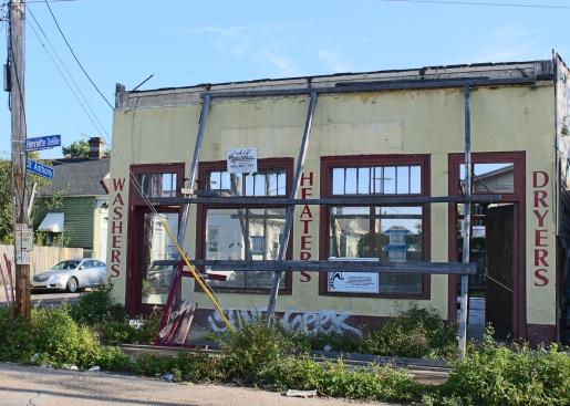49 henriette delille & saint anthony laundromat facade new orleans