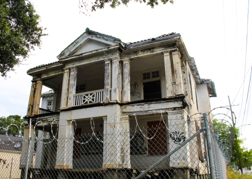 66 scary house on banks & rocheblave midcity new orleans