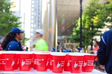 09 chicago marathon water stand