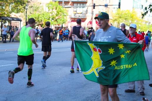 31 australian at chicago marathon