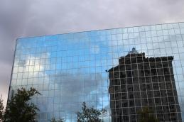 35 grand rapids building reflection