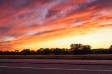 04 blaine minnesota sunset