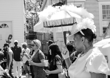 08 super sunday second liners black & white
