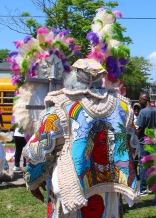 12 mardi gras indians super sunday