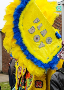 13 midcity super sunday mardi gras indians flag boy