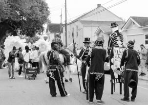 45 midcity super sunday northside bone gang black & white