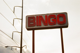 bingo sign airline drive new orleans 35mm