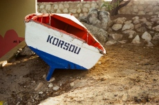 curacao korsou rowboat 35mm