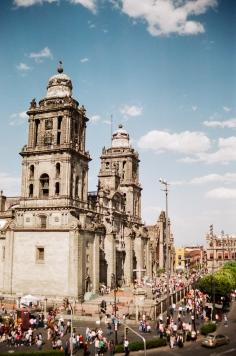 mexico city catedral zocalo 35mm
