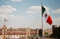 mexico city zocalo 35mm