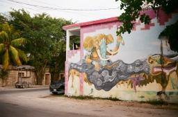 tulum street art 35mm