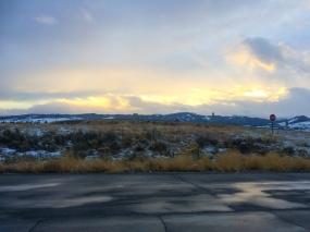 60 montana sunset