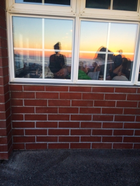 11 pacific city oregon sunset reflection
