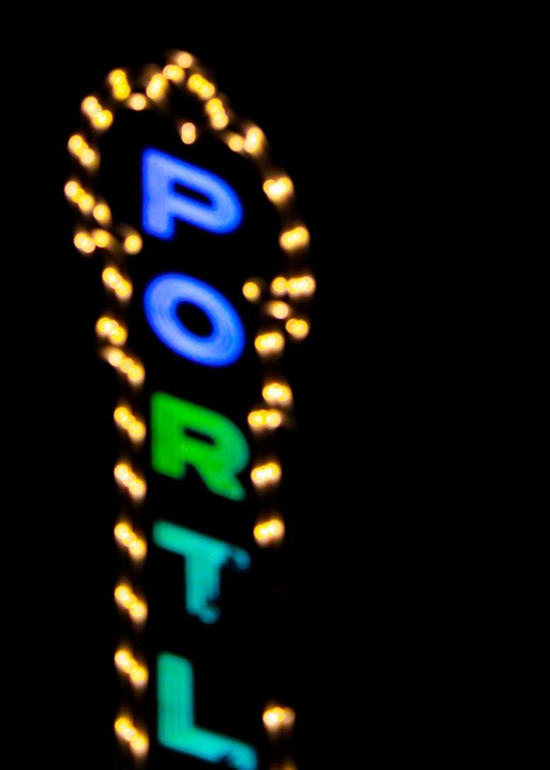 33 portland oregon neon
