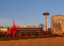 23 seattle sculpture garden space needle fall 2017
