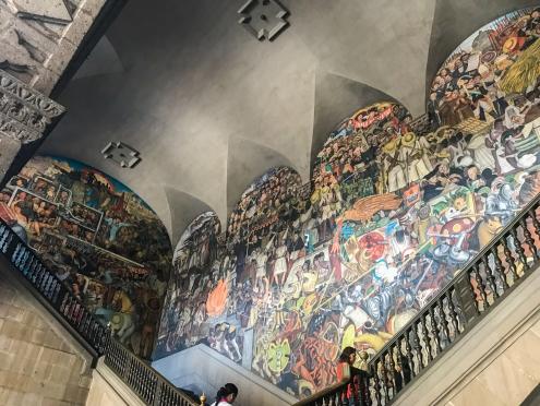 12 rivera palacio nacional mural