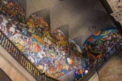 13 rivera palacio nacional mural