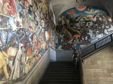 15 rivera palacio nacional mural