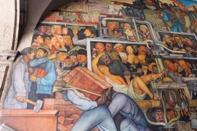 18 rivera palacio nacional mural detail