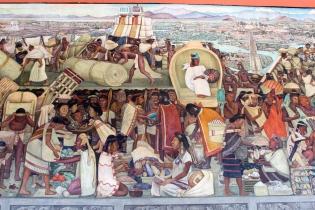19 rivera palacio nacional mural detail