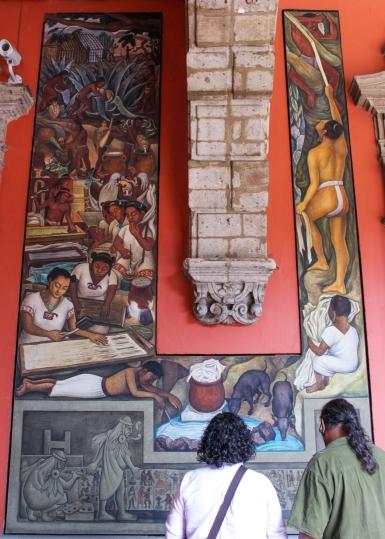 24 rivera palacio nacional mural detail