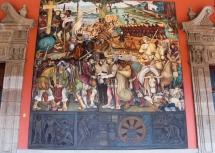 25 rivera palacio nacional mural detail