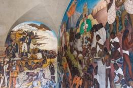 26 rivera palacio nacional mural detail