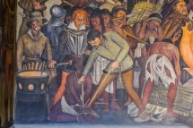 27 rivera palacio nacional mural detail