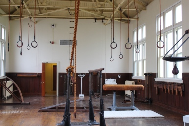 32 hot springs arkansas fordyce bathhouse gymnasium