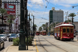 03 street cars canal street new orleans