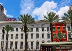06 astor hotel & streetcar canal street new orleans