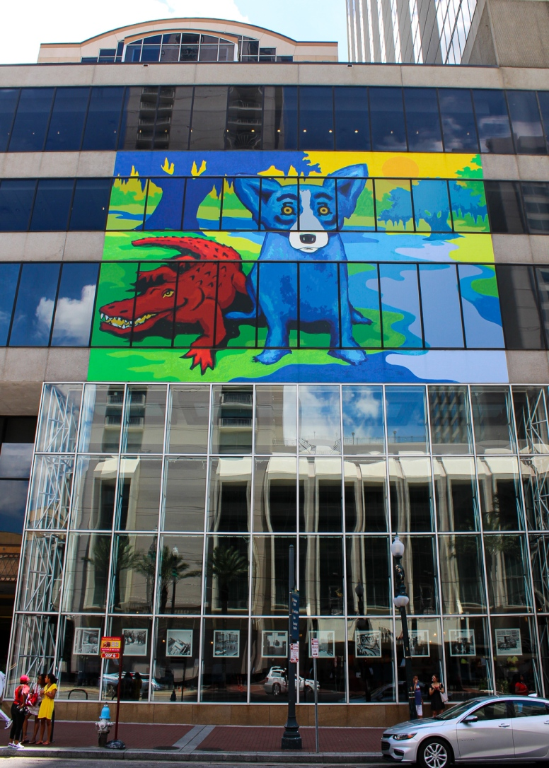 12 george rodrigue blue dog gator sheraton canal street new orleans