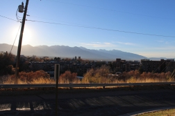 04 sunrise over mountains salt lake city utah