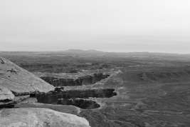 30 canyonlands utah b&w