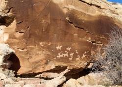 59 ute rock art arches national park